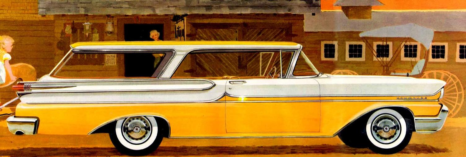 Mercury even offered a two door hardtop wagon - god love 'em