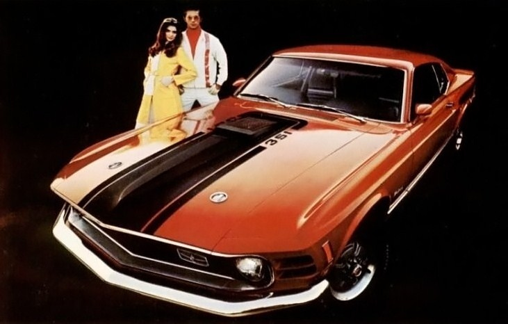 1969 Mustang 351 Mach 1