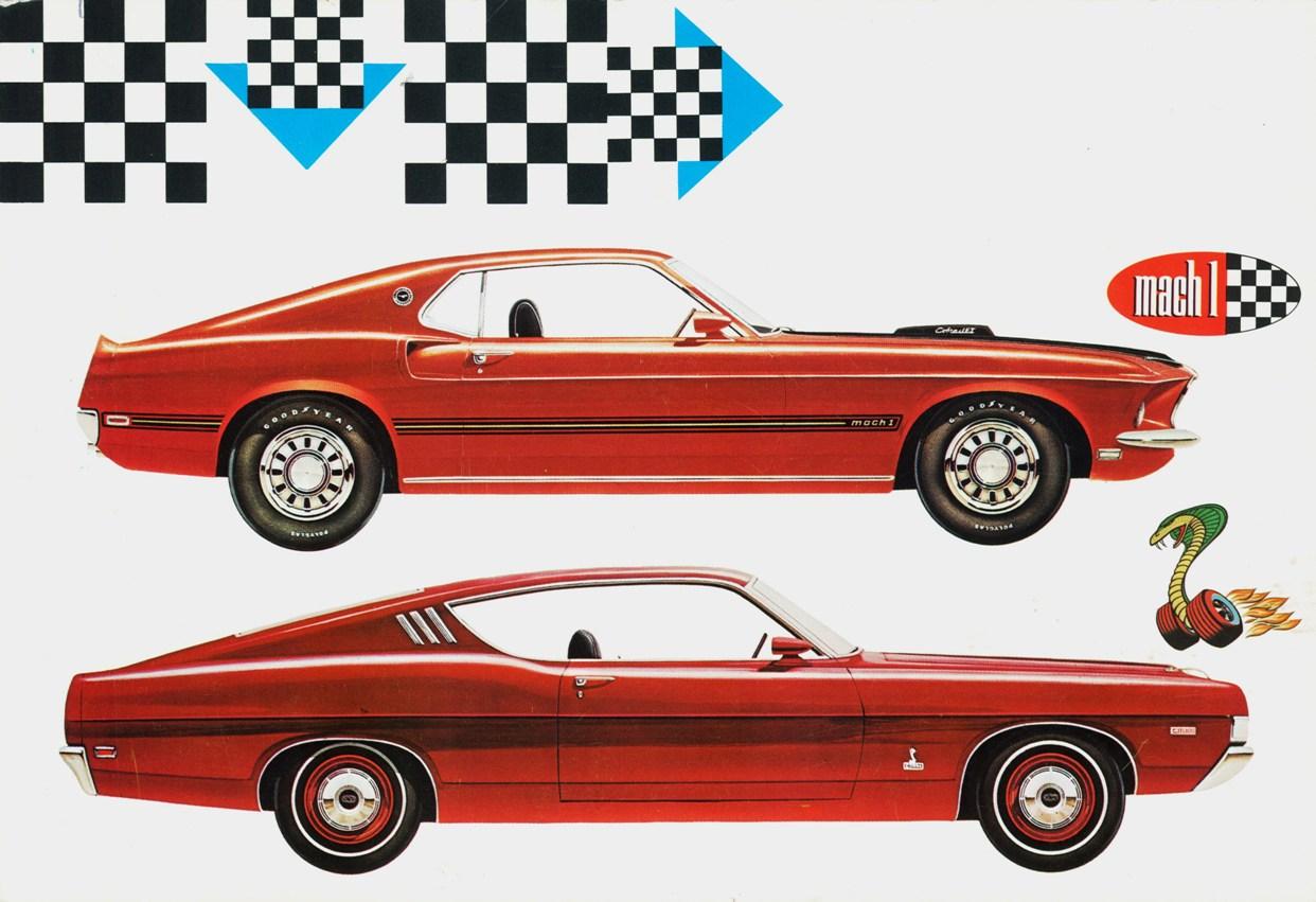 1969 Mustang Mach 1 Cobra Jet