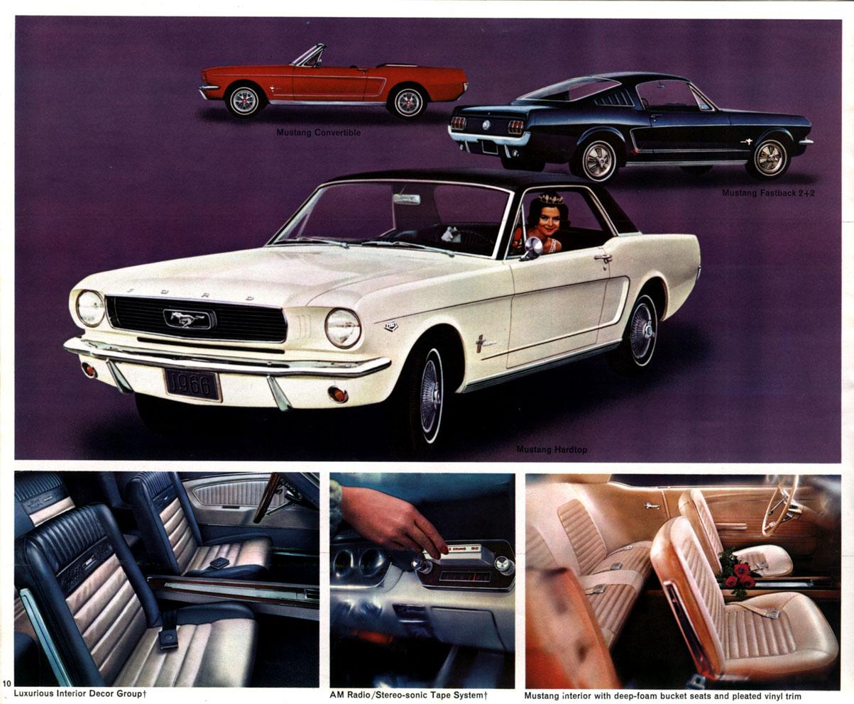 1966 Mustang interior options
