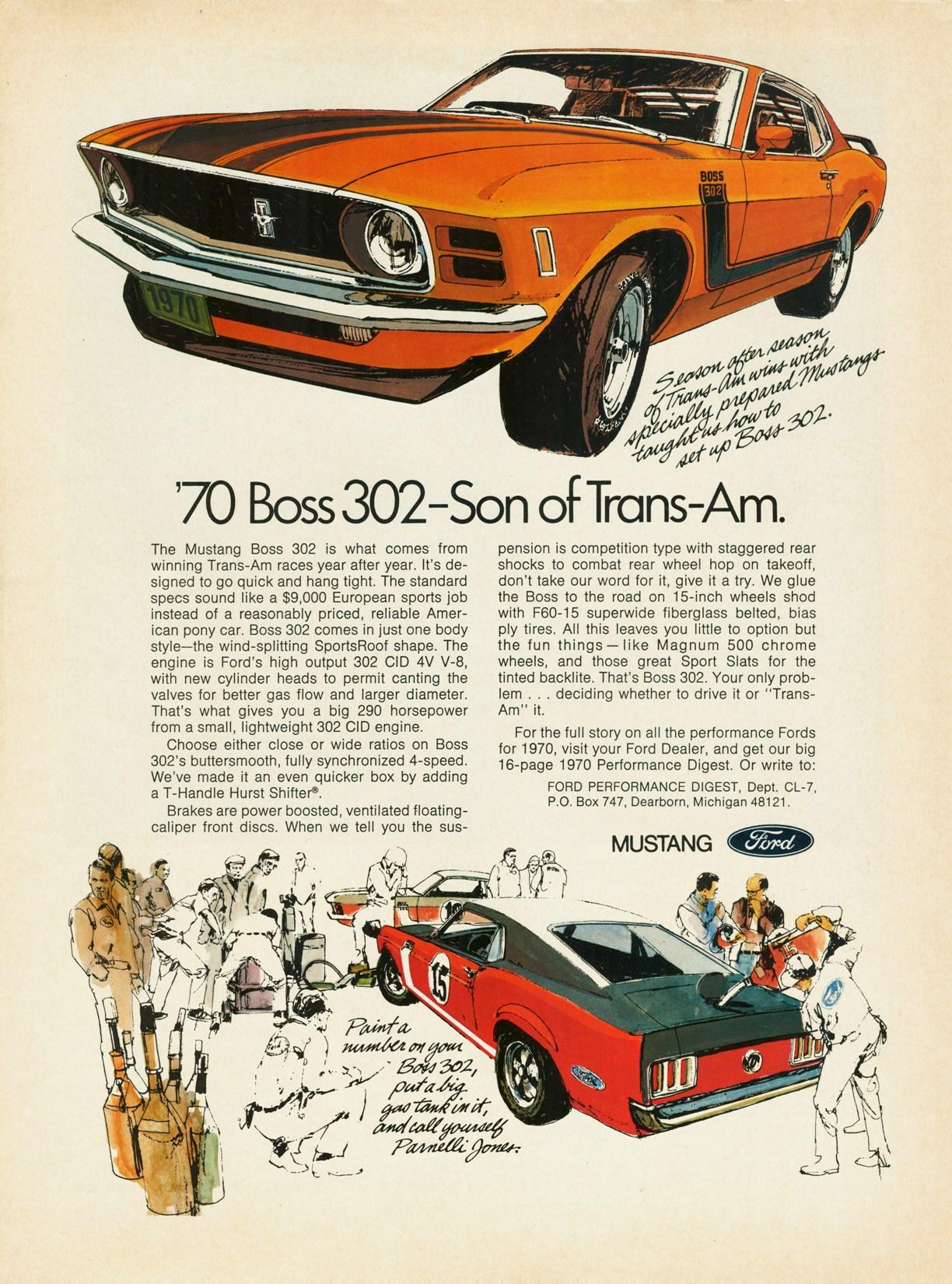 1969 Mustang Boss 302 - son of Trans-Am