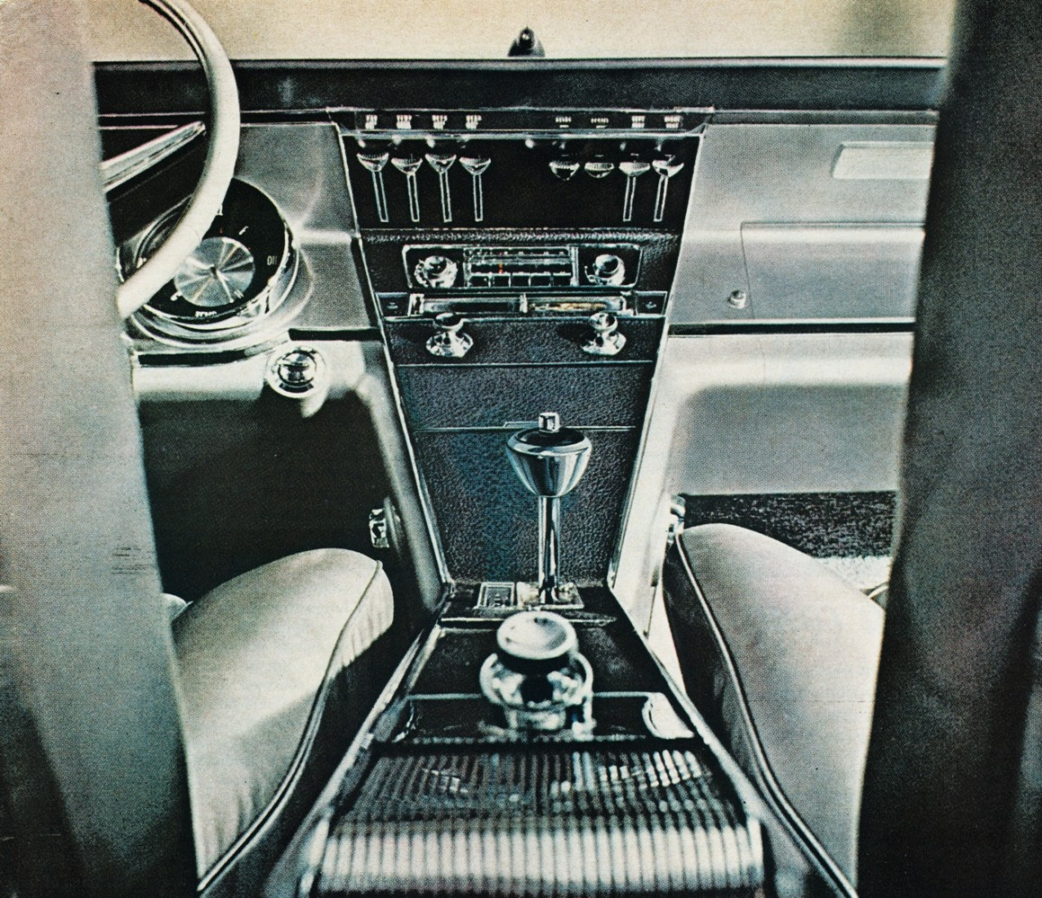 Every bit as stunning on the inside - there were few finer places to be in 1960s autodom than at the wheel of a Riviera