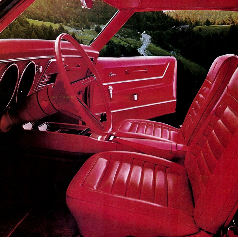 With a dizzying array of options - the Camaro interior could be made to order.