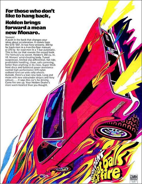 1970 HG GTS Monaro - Varoom!