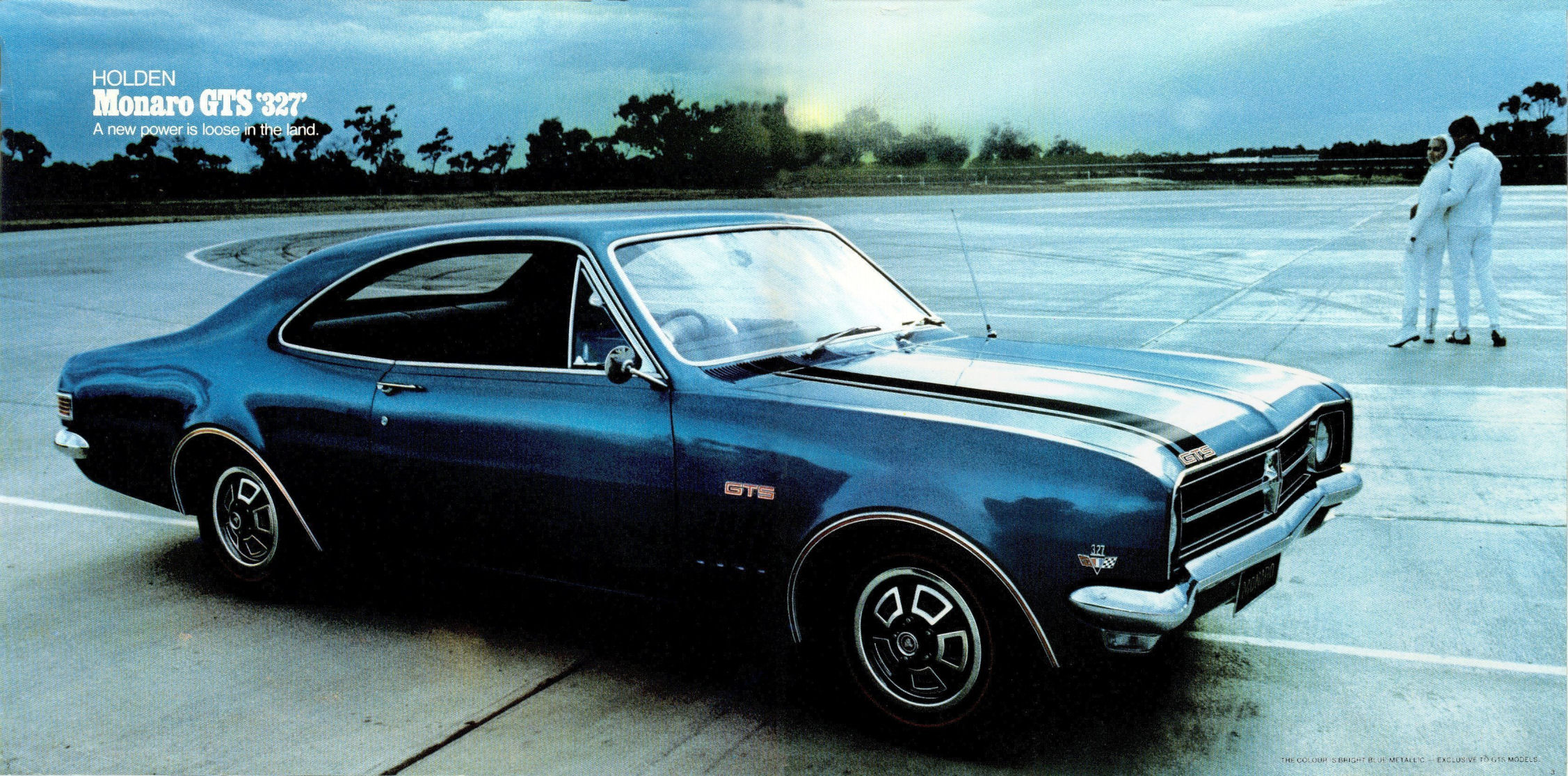 HK Monaro GTS 327 - a new power is loose in the land
