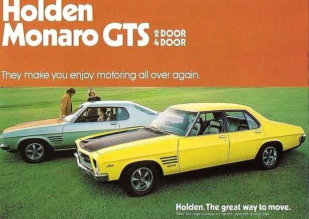 HQ Monaro GTS - 2 and 4 door versions