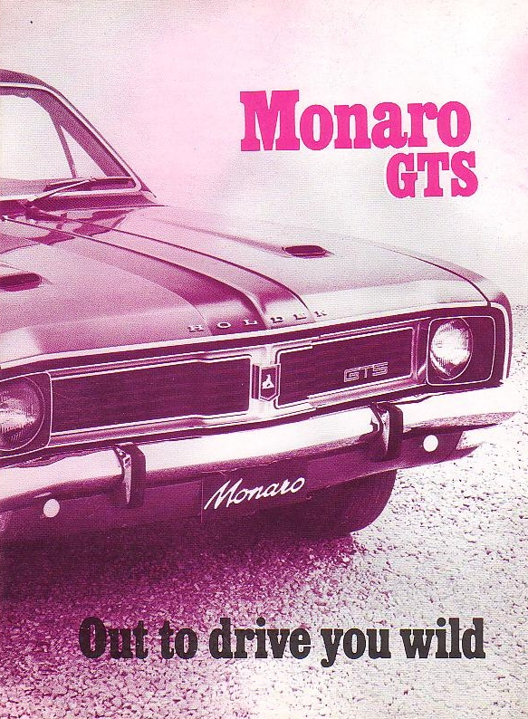 1969 HT Monaro HTS - out to drive you wild