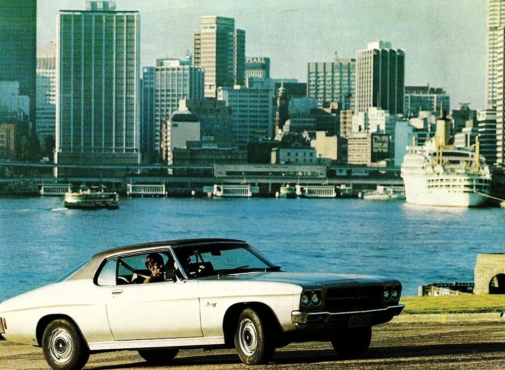 1972 HQ LS Monaro - the two door Premier