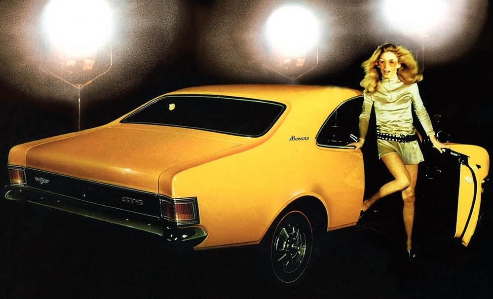 1970 HG Monaro GTS in 'yellow dolly'