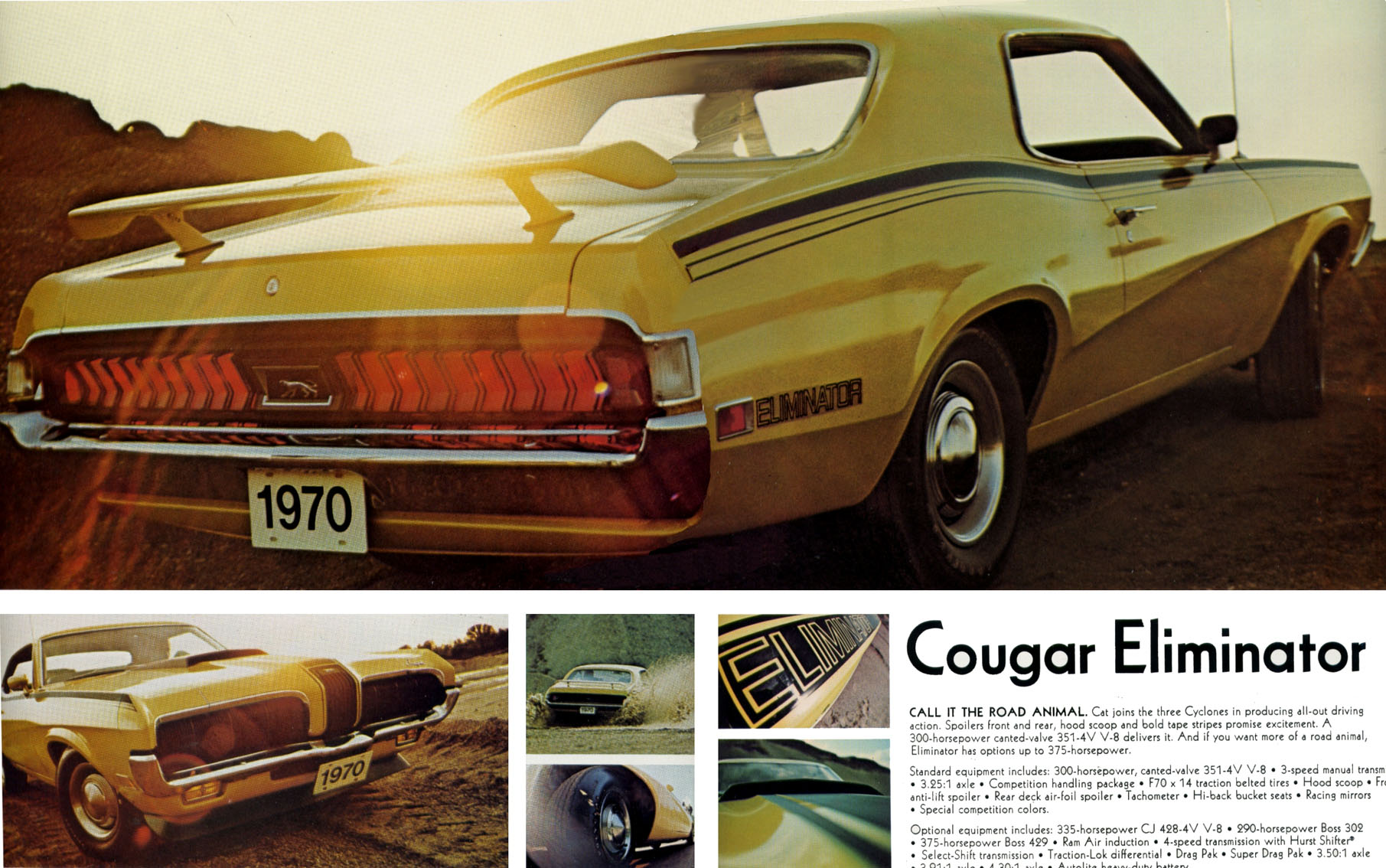 1970 Cougar Eliminator - call it the road animal...
