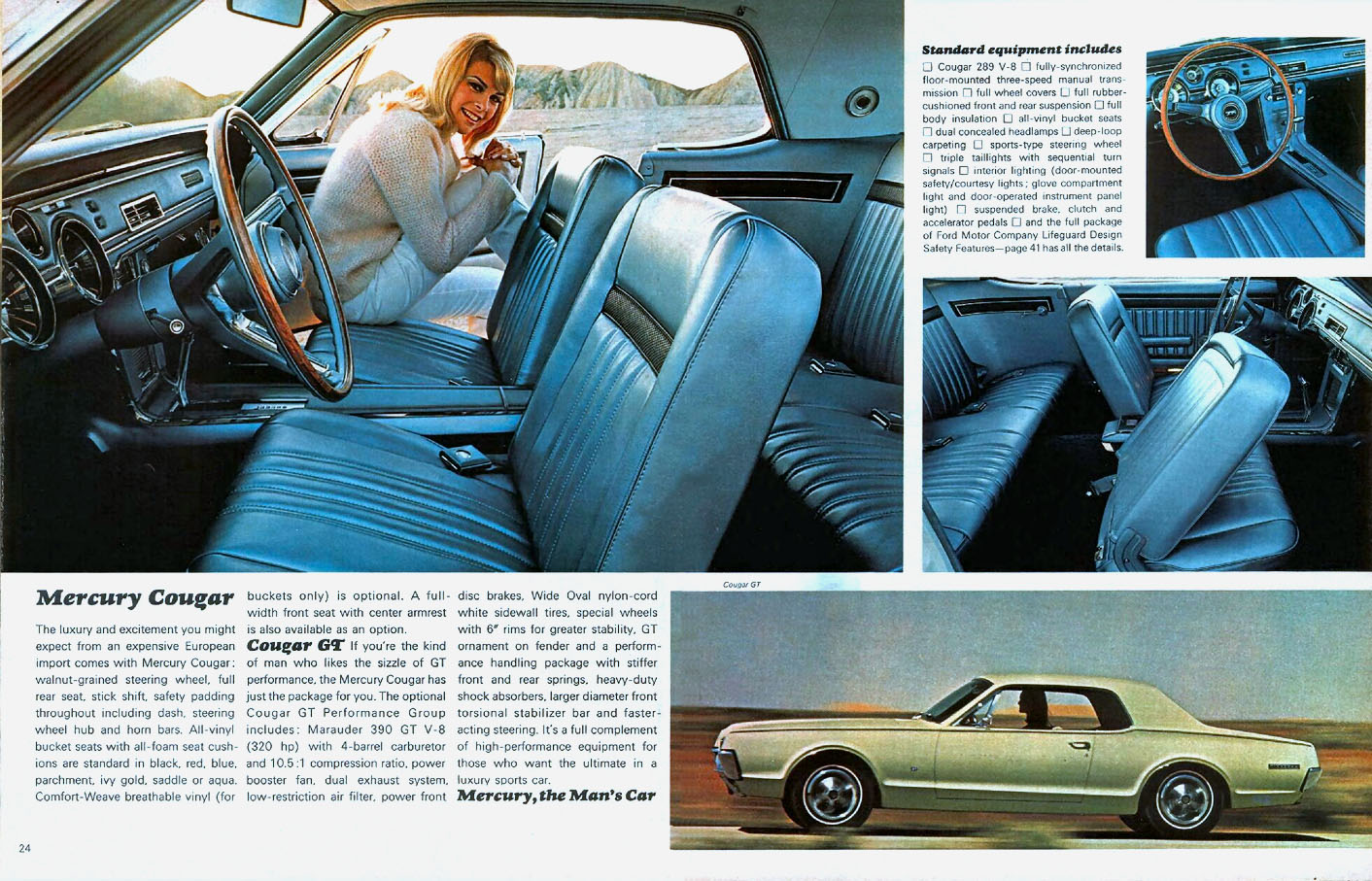 1967 Cougar GT - the Man's Car