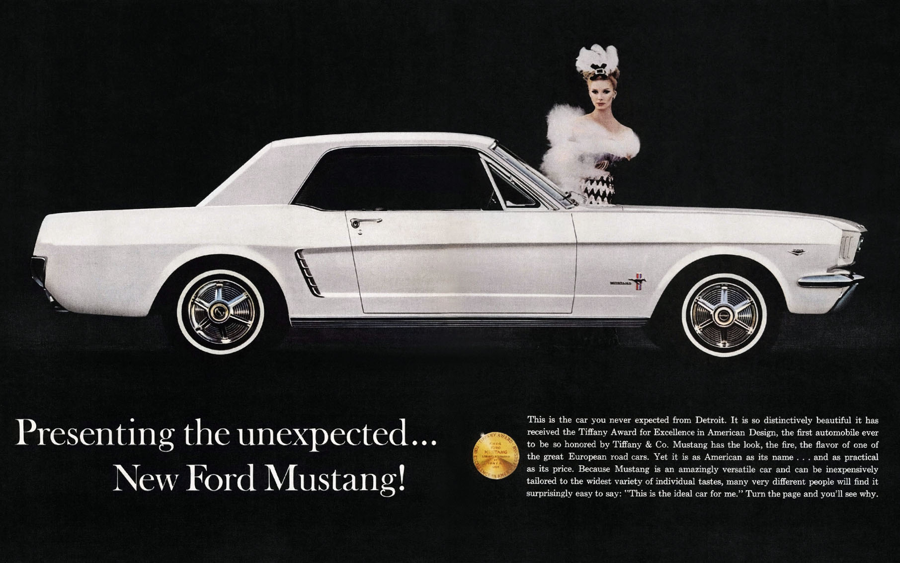 Presenting the unexpected - new Ford Mustang for 1964