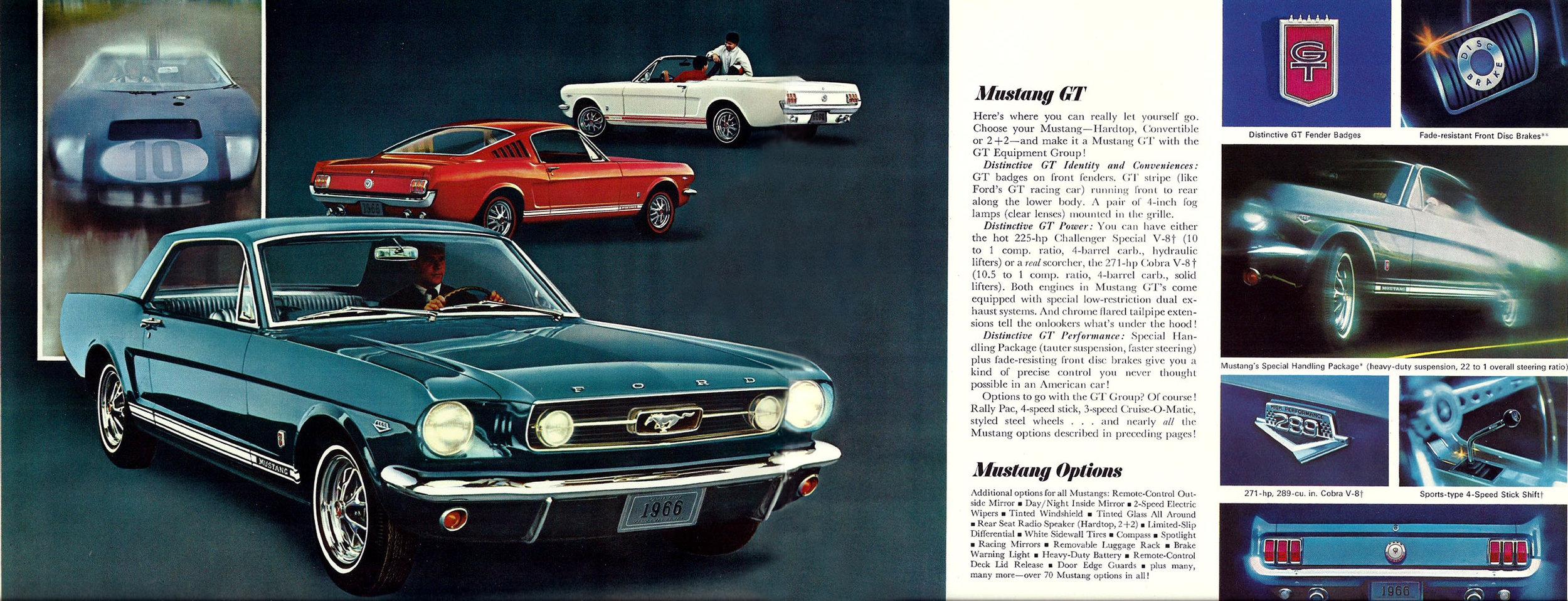1966 Mustang GT - hardtop, fastback or soft top