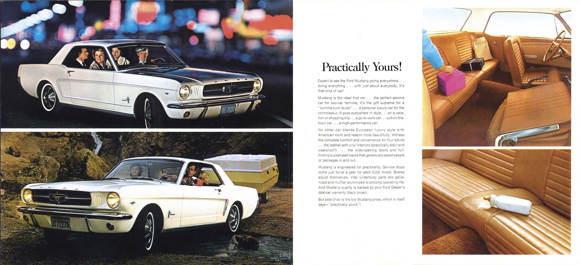 Mustang for 1964 - practically yours!