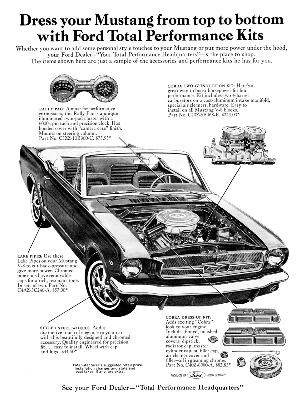 1966 Mustang - Ford Total Performance Kit