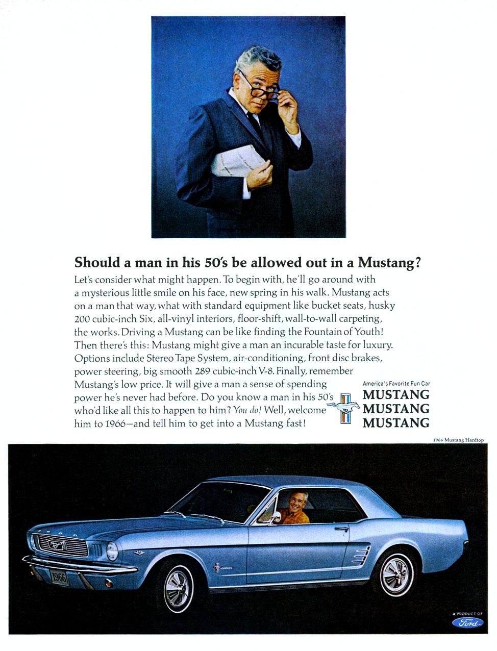 1966 Mustang - America's favourite fun car
