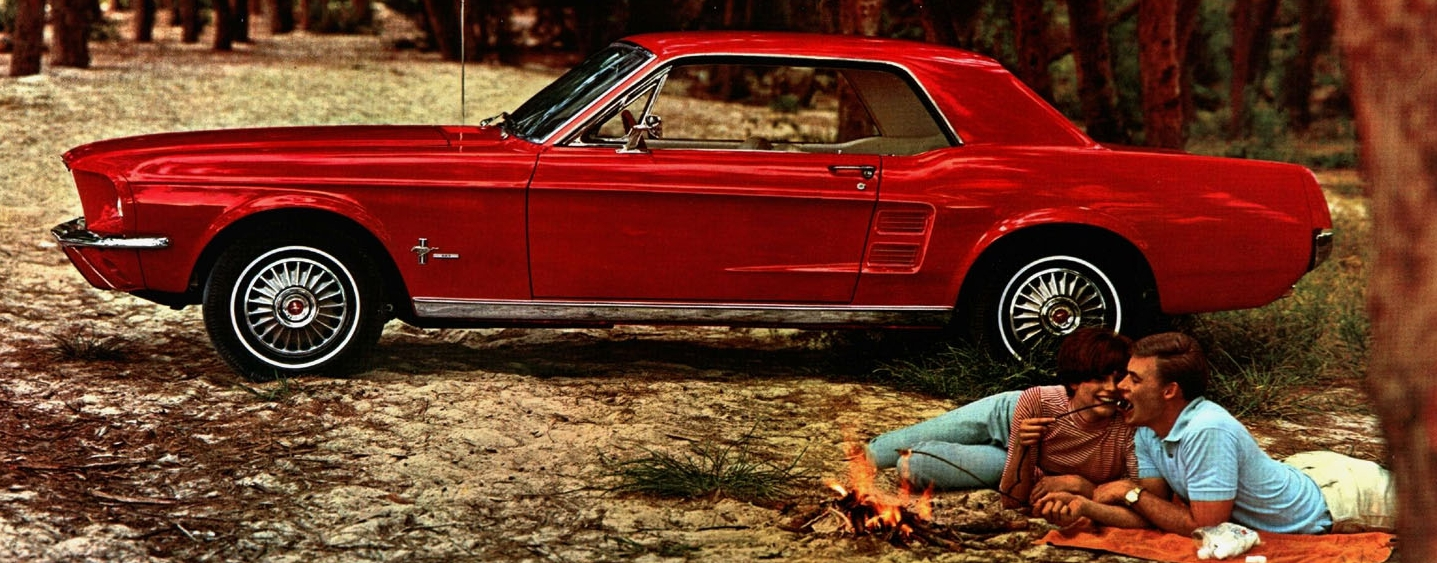 1967 Mustang hardtop