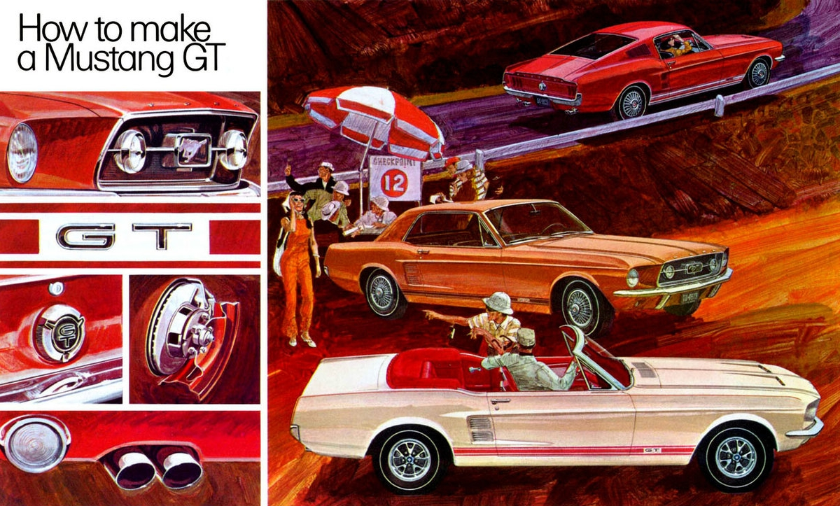 1967 How to make a Mustang GT