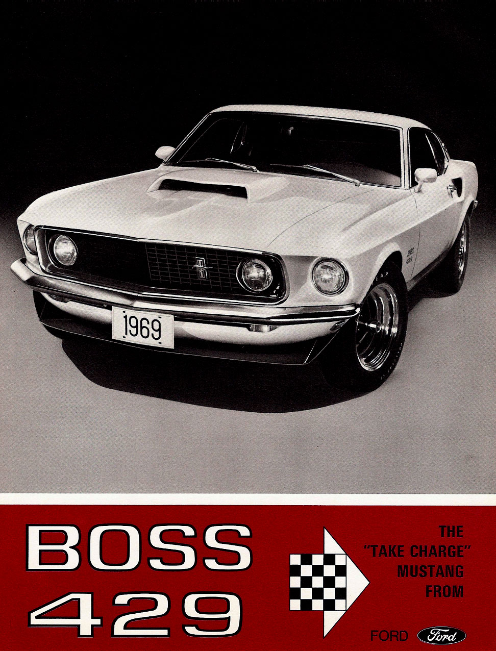 1969 Boss 429 - the 'take charge' Mustang from Ford
