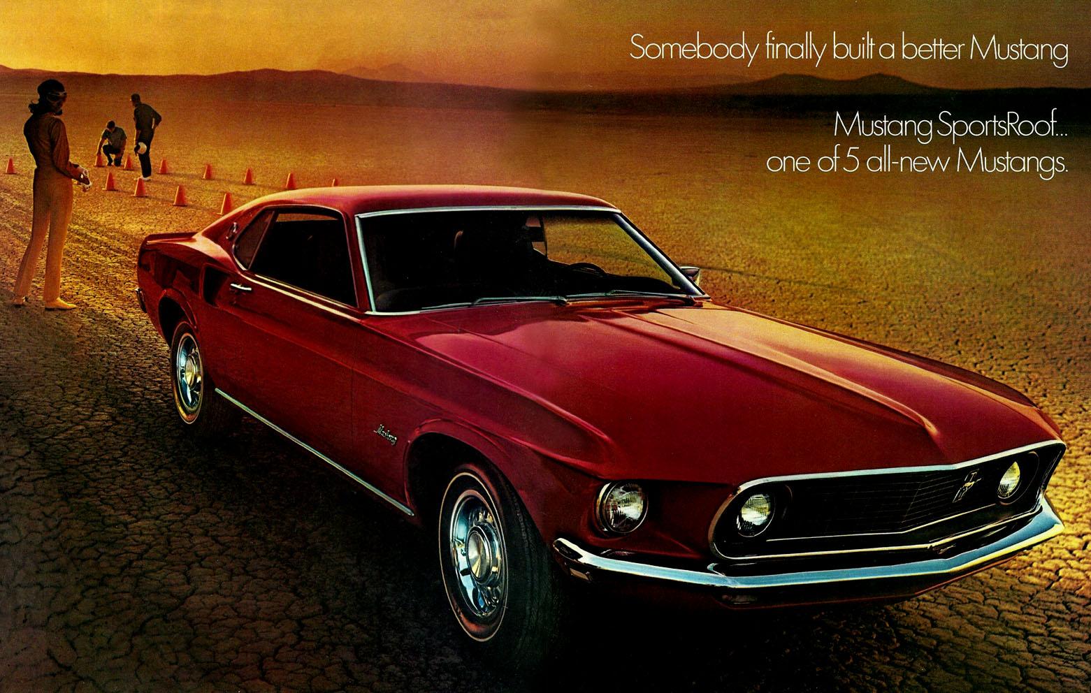 1969 Mustang sportsRoof
