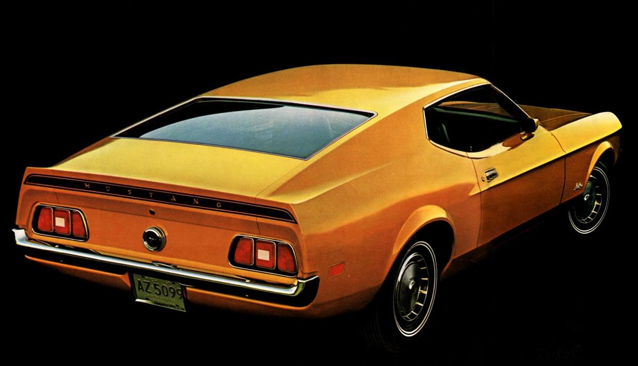 1972 Mustang sportsroof
