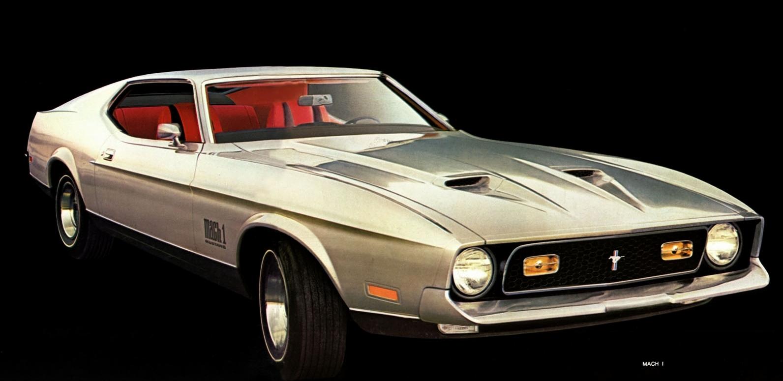1971 Mustang Mach 1 sportsroof