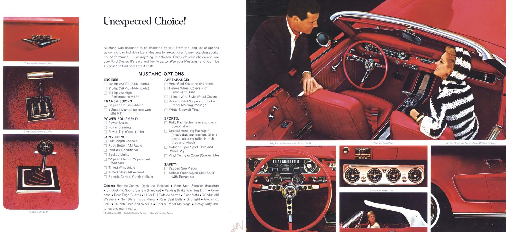 Mustang for 1965 - unexpected choice!