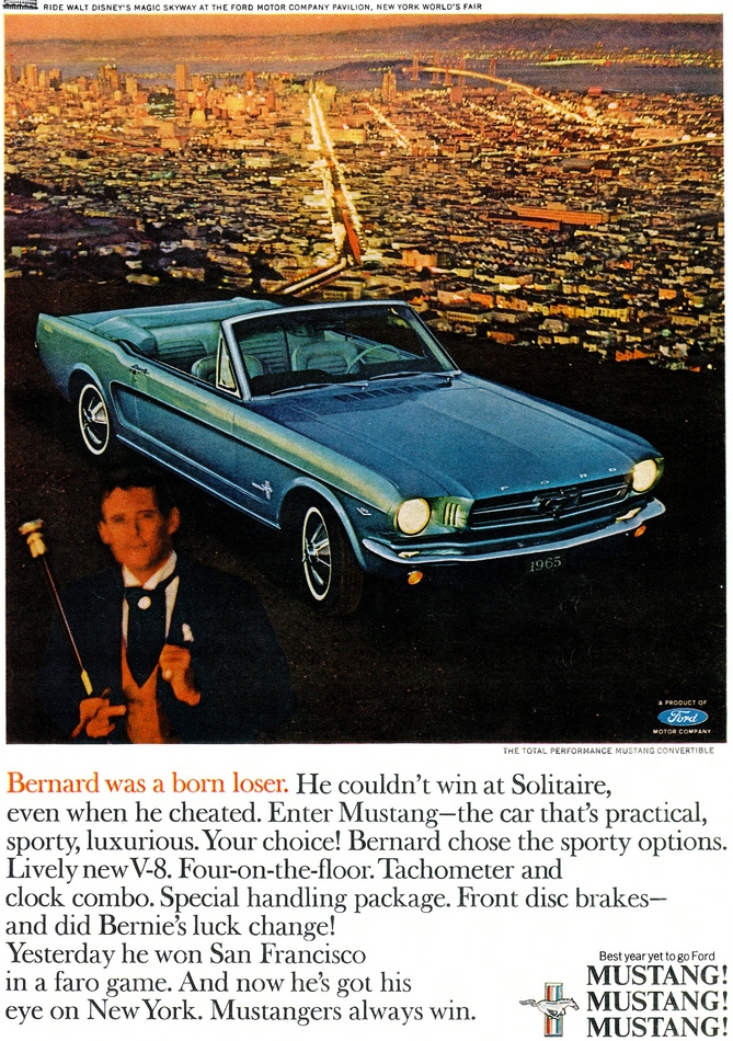 1966 Mustang - choose the sporty options!