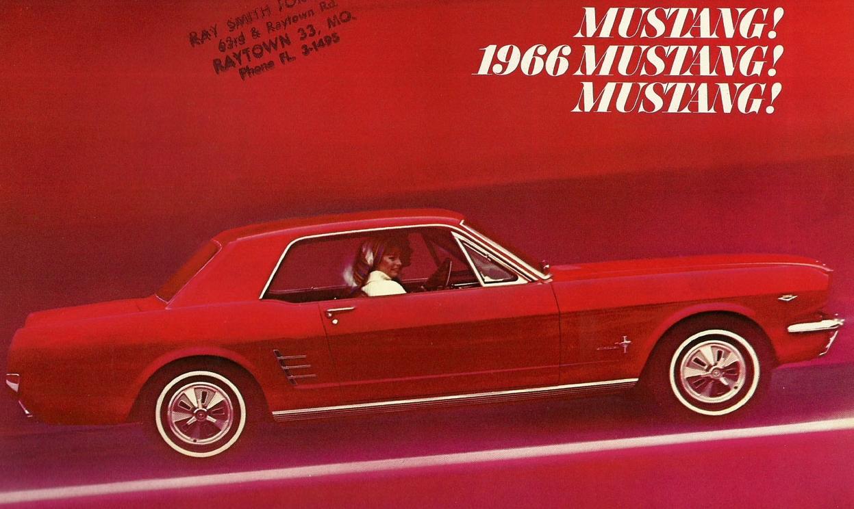 1966 Mustang! Mustang! Mustang!