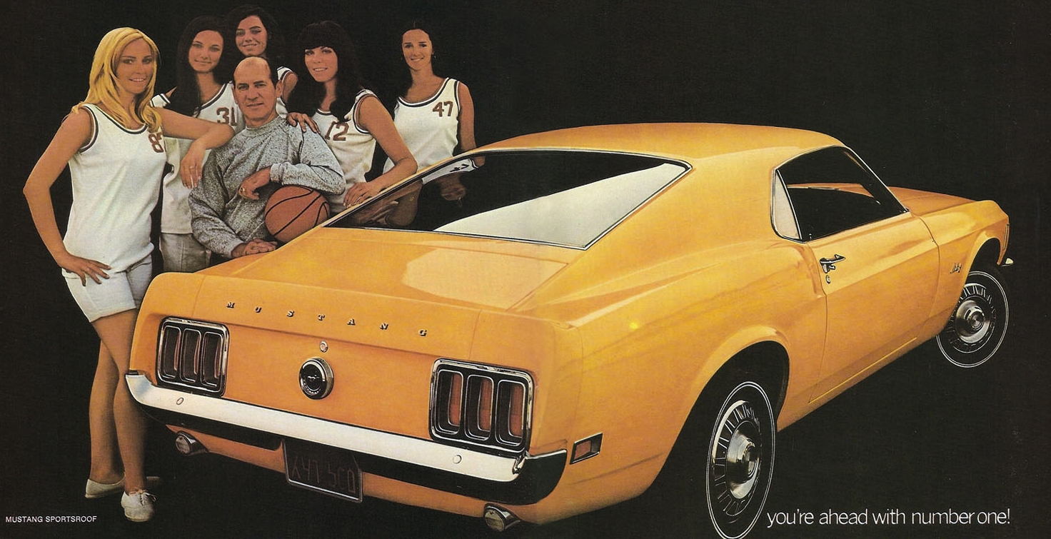 1970 Mustang SportsRoof - you're ahead with number one!