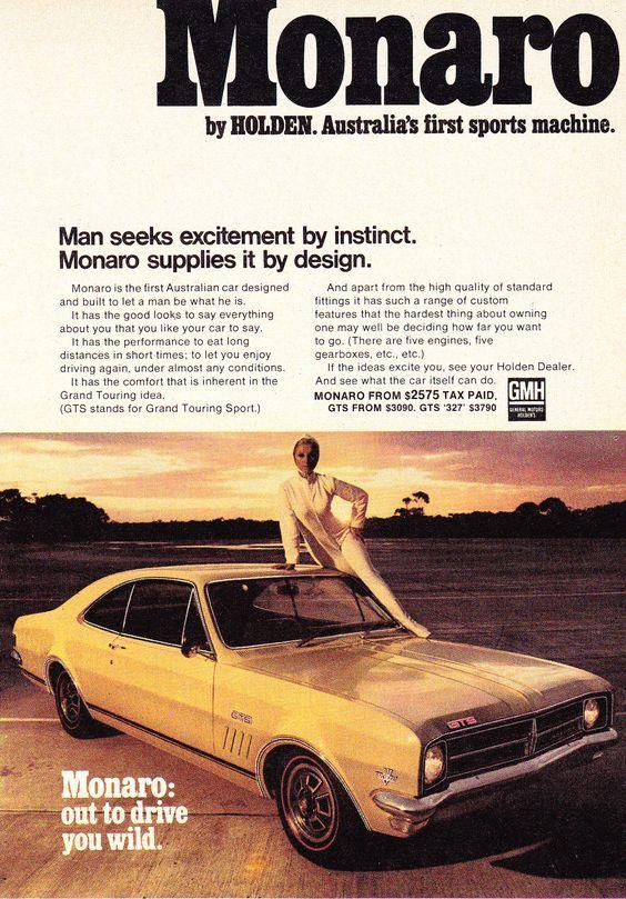 1968 HK GTS Monaro Australia's first sports machine