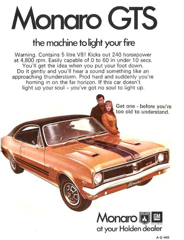 HG Monaro GTS the machine to light your fire