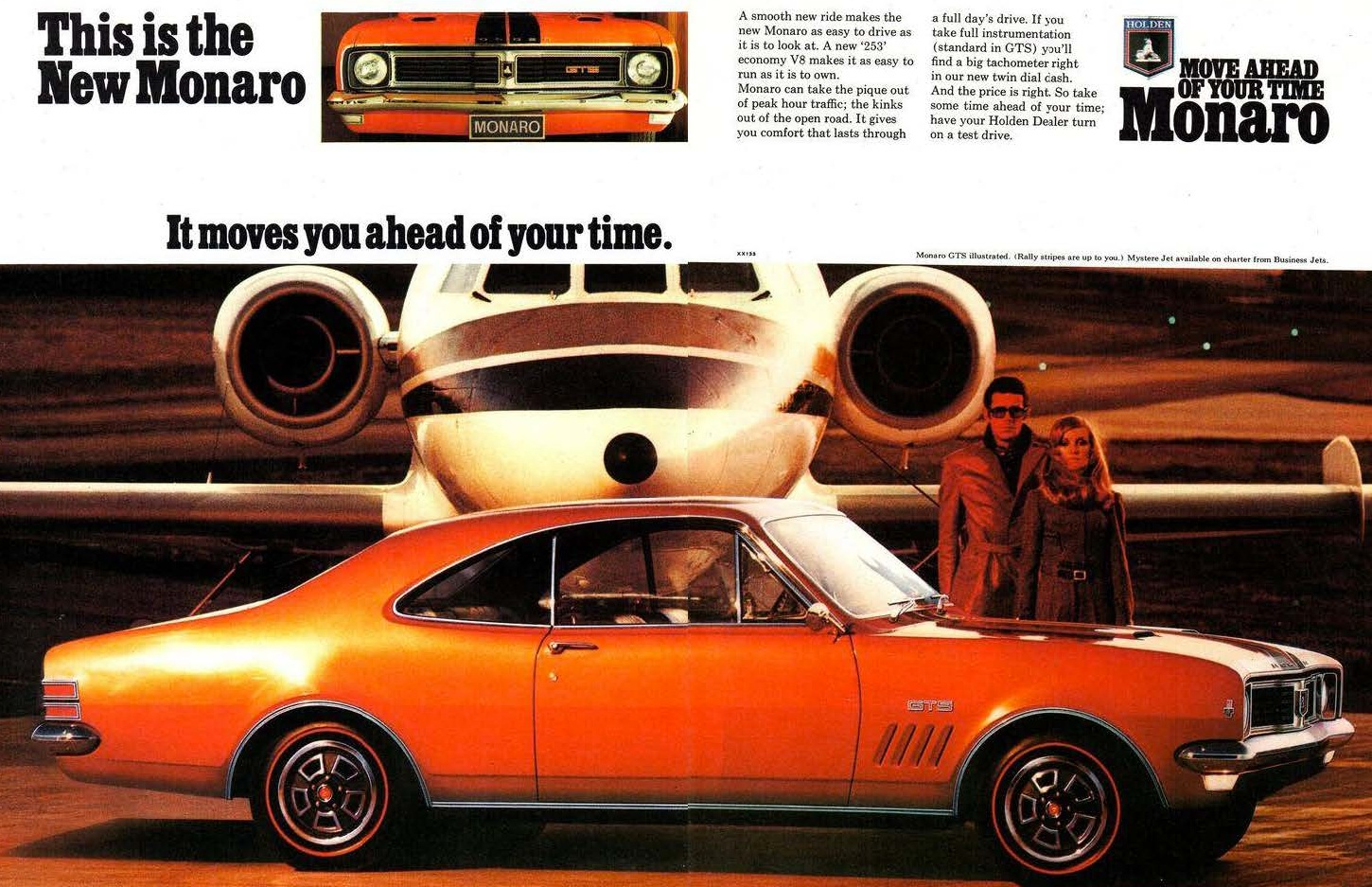 1969 HT GTS Monaro - moves you ahead of your time