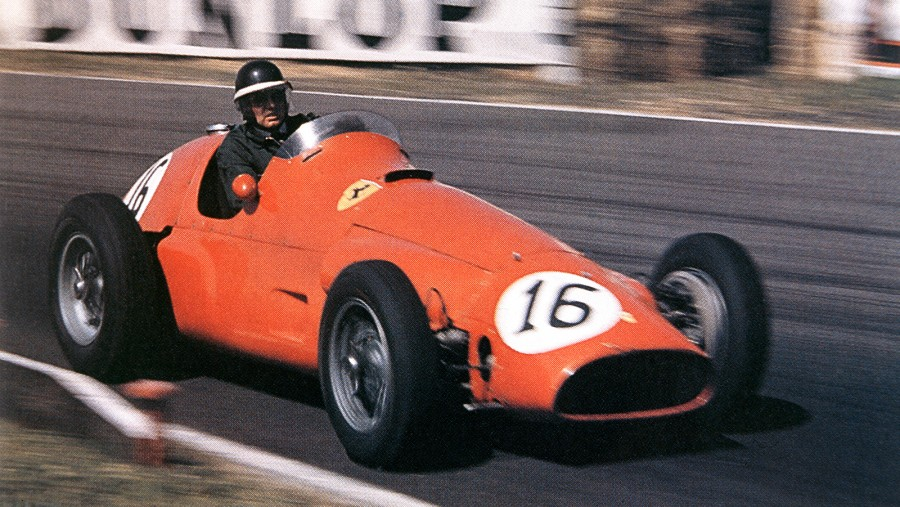1958 - Mike Hawthorn, Ferrari. First year the Manufacturer title was awarded : Vanwall, UK
