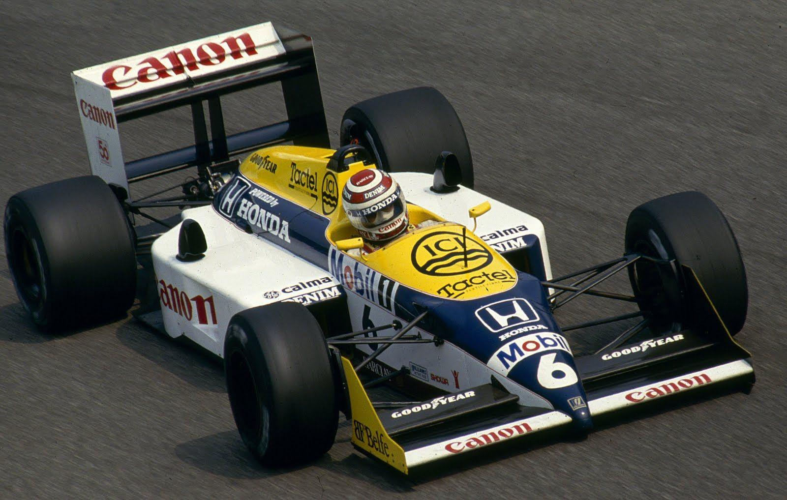 1987 - Canon Williams Honda Team