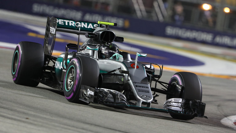 2016 - Mercedes AMG Petronas F1 Team