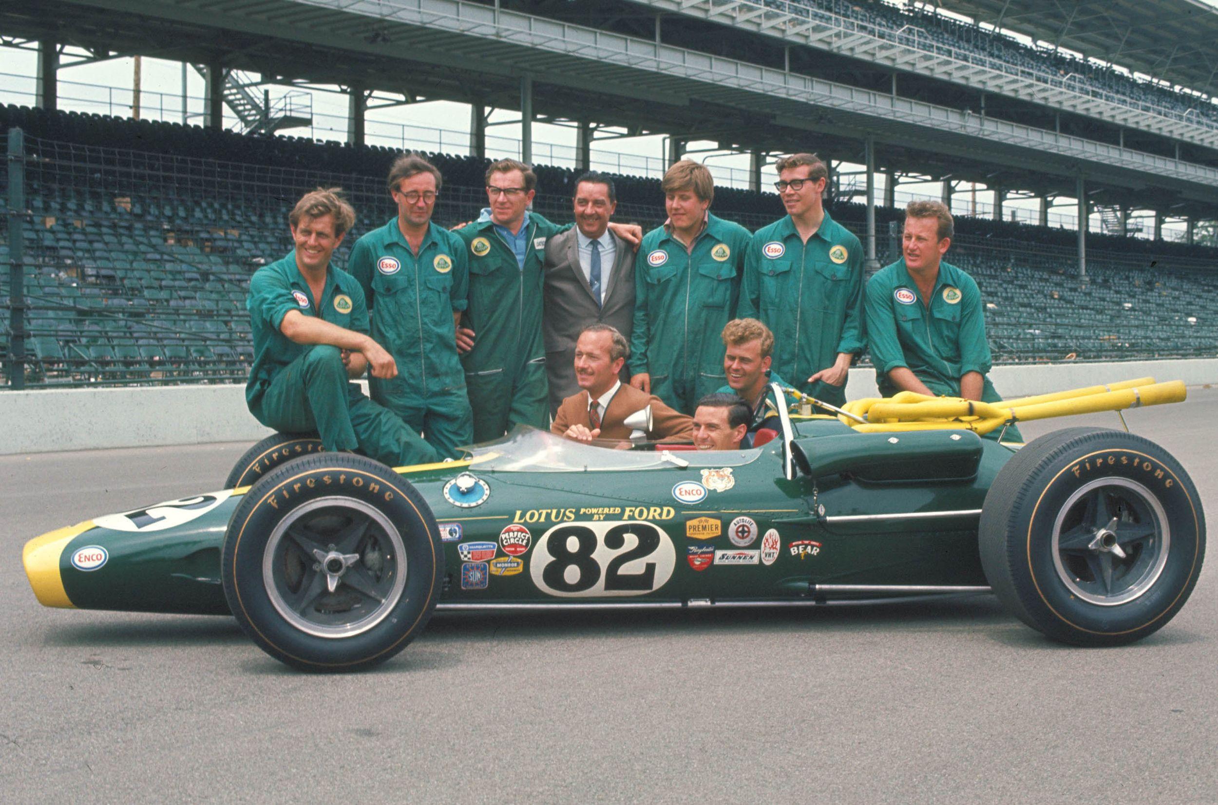 1965 World Champion - Jim Clark (UK)
