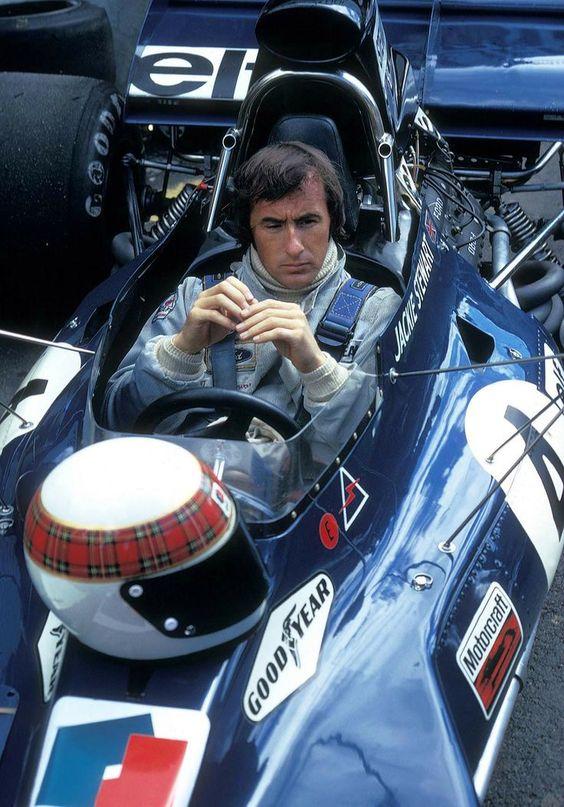 1973 World Champion - Jackie Stewart (Scotland)