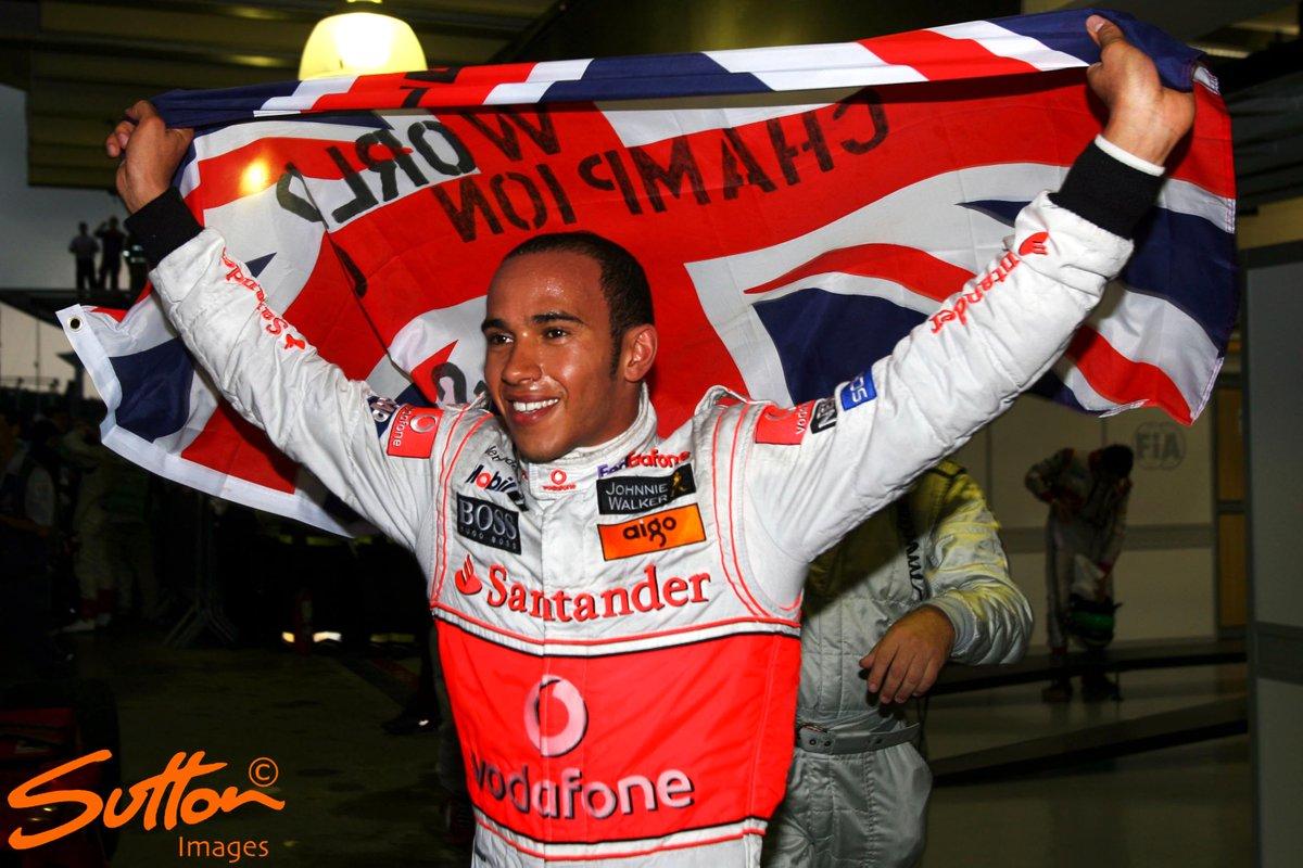 2008 World Champion - Lewis Hamilton (UK)