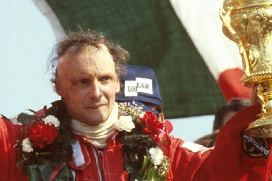 1977 World Champion - Niki Lauda (Austria)