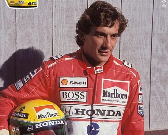 1990 World Champion - Ayrton Senna (Brazil)