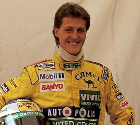 1995 World Champion - Michael Schumacher (Germany)