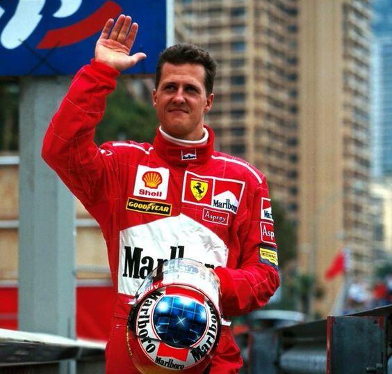 2002 World Champion - Michael Schumacher (Germany)