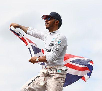 2017 World Champion - Lewis Hamilton (UK)