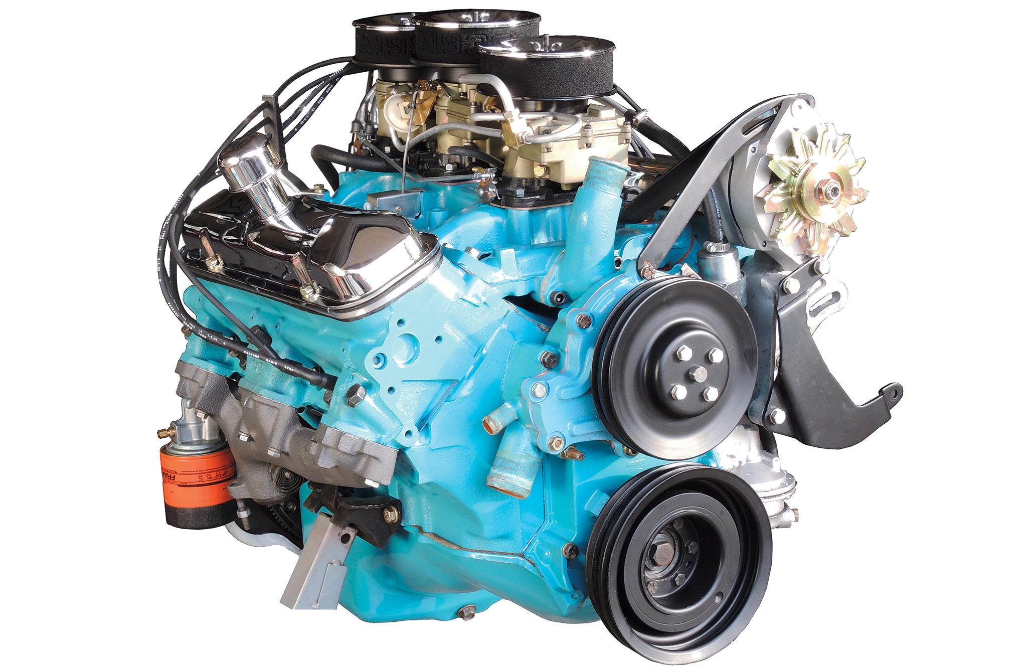 Pontiac's potent 421 cubic inch, Nascar winning 'Super Duty V8