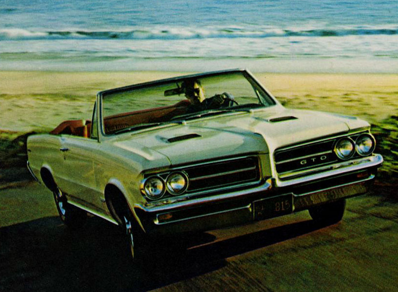 An early print ad for the first generation GTO