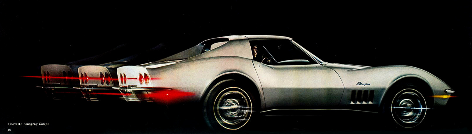 Chevrolet sold a record 36,762 Corvettes for model year 1969.