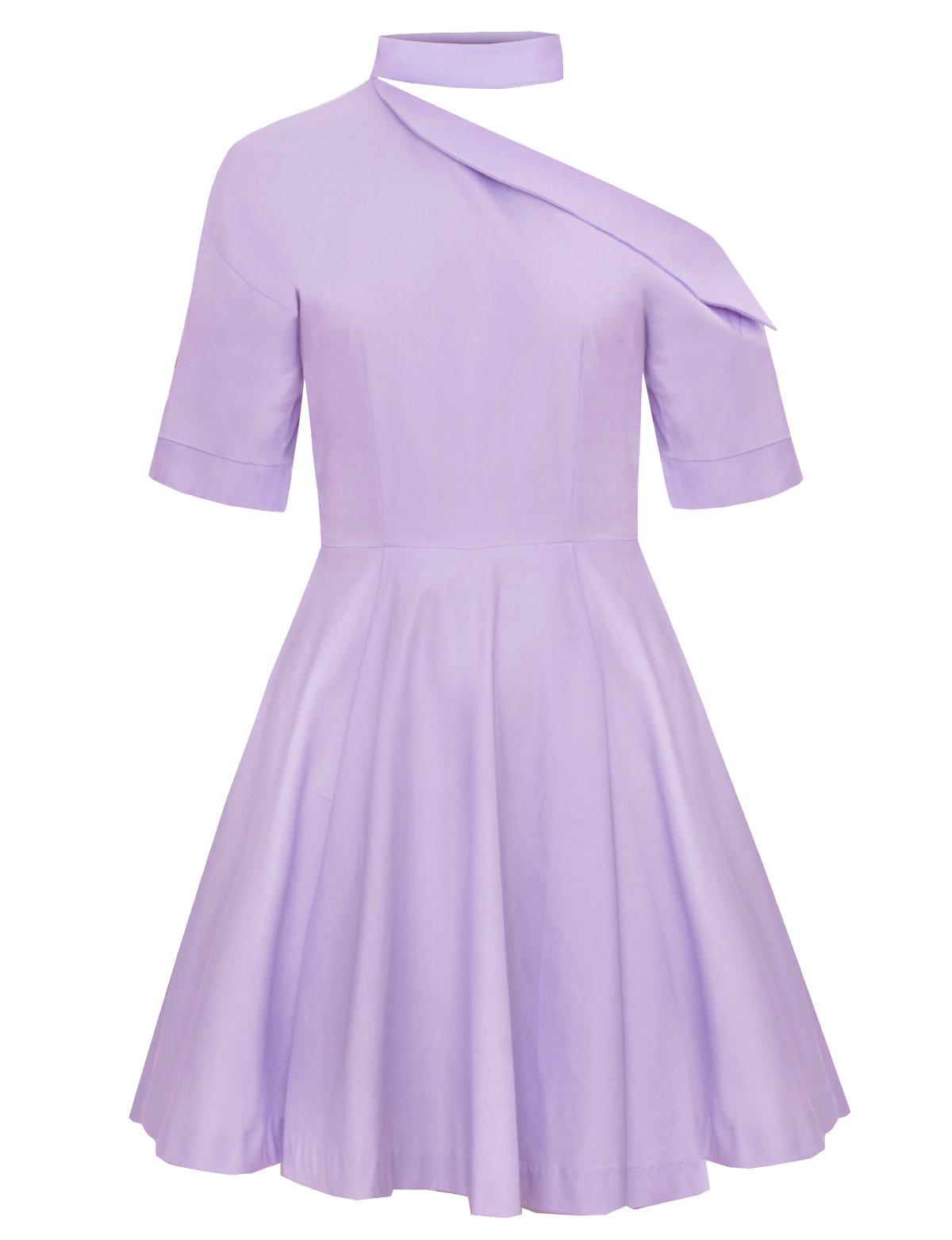 Pixie Market Kiko Choker Dress , $109