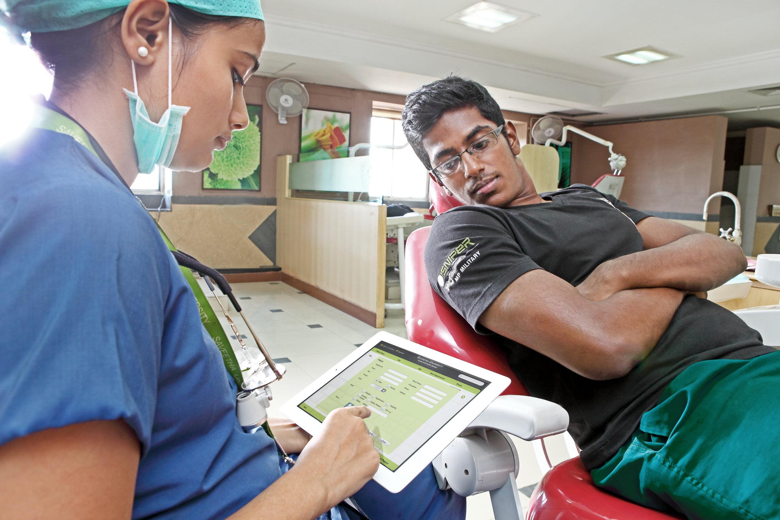 iPad Dental Clinic