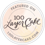 Wanna see our wedding? Check it out on  100 Layer Cake !